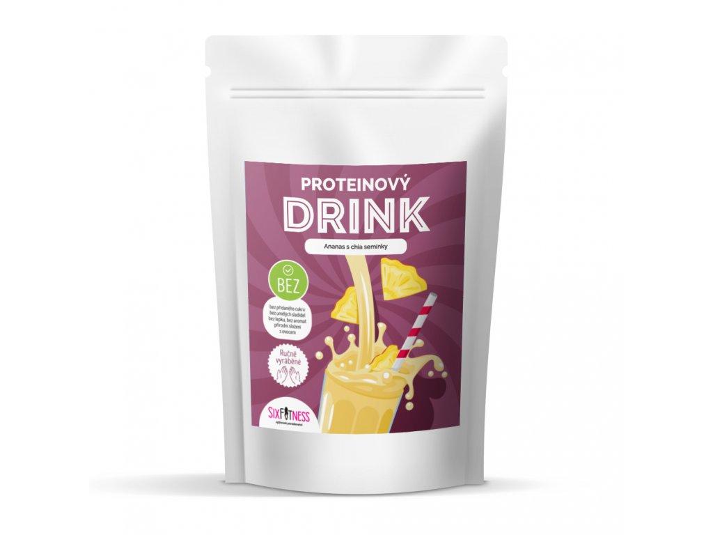 sixfitness protein drink ananas