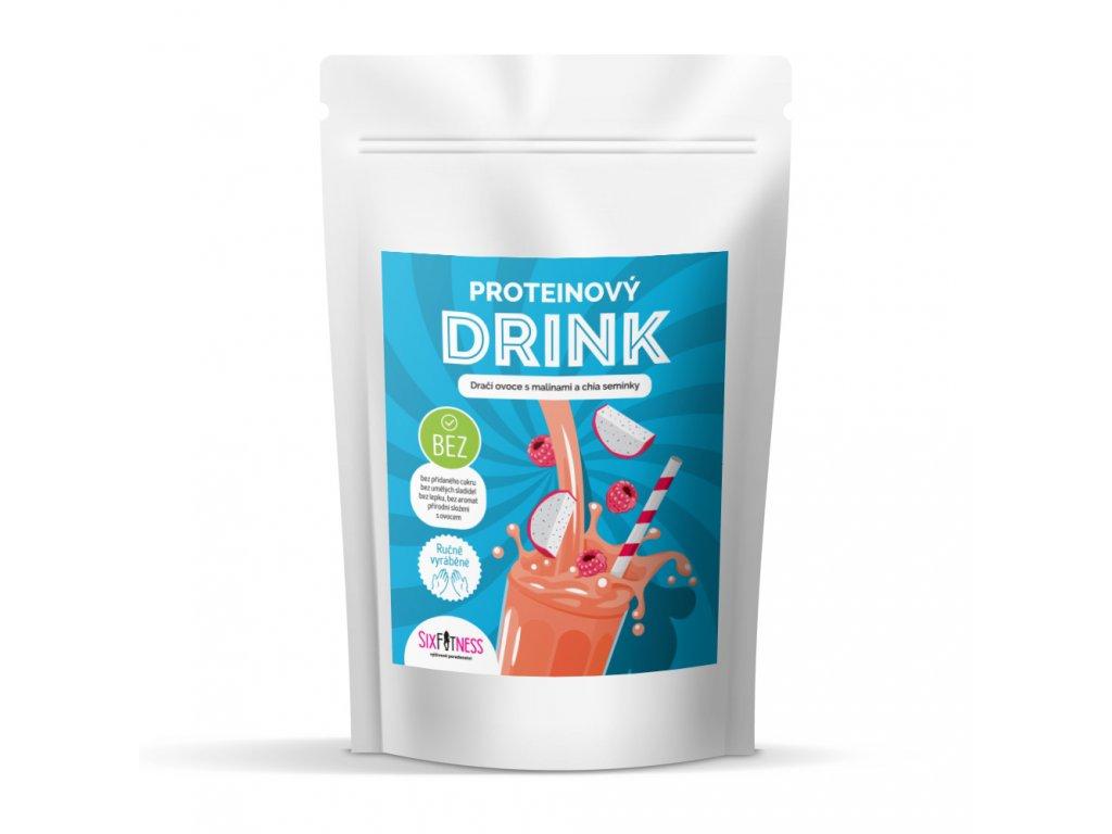 sixfitness protein drink draci ovoce