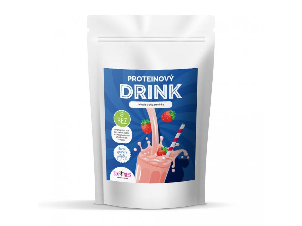sixfitness protein drink jahoda