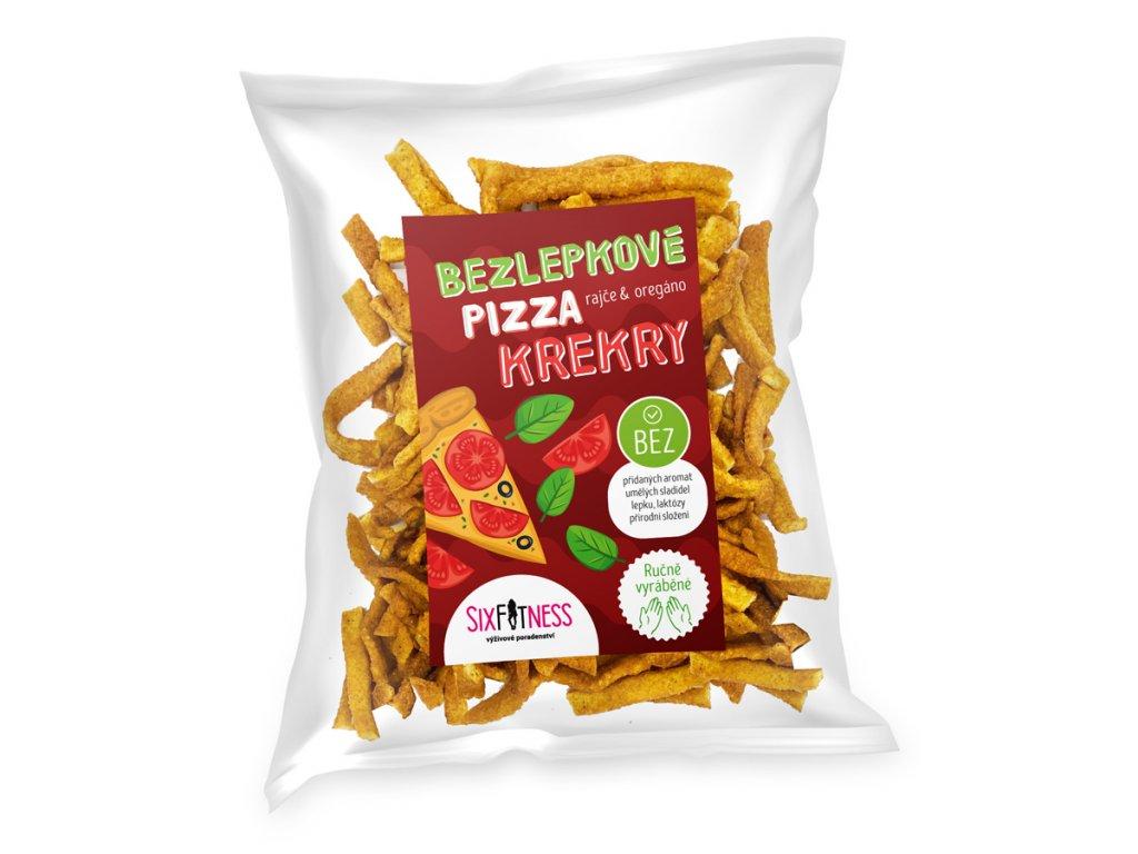 SixFitness bezlepkove krekry pizza