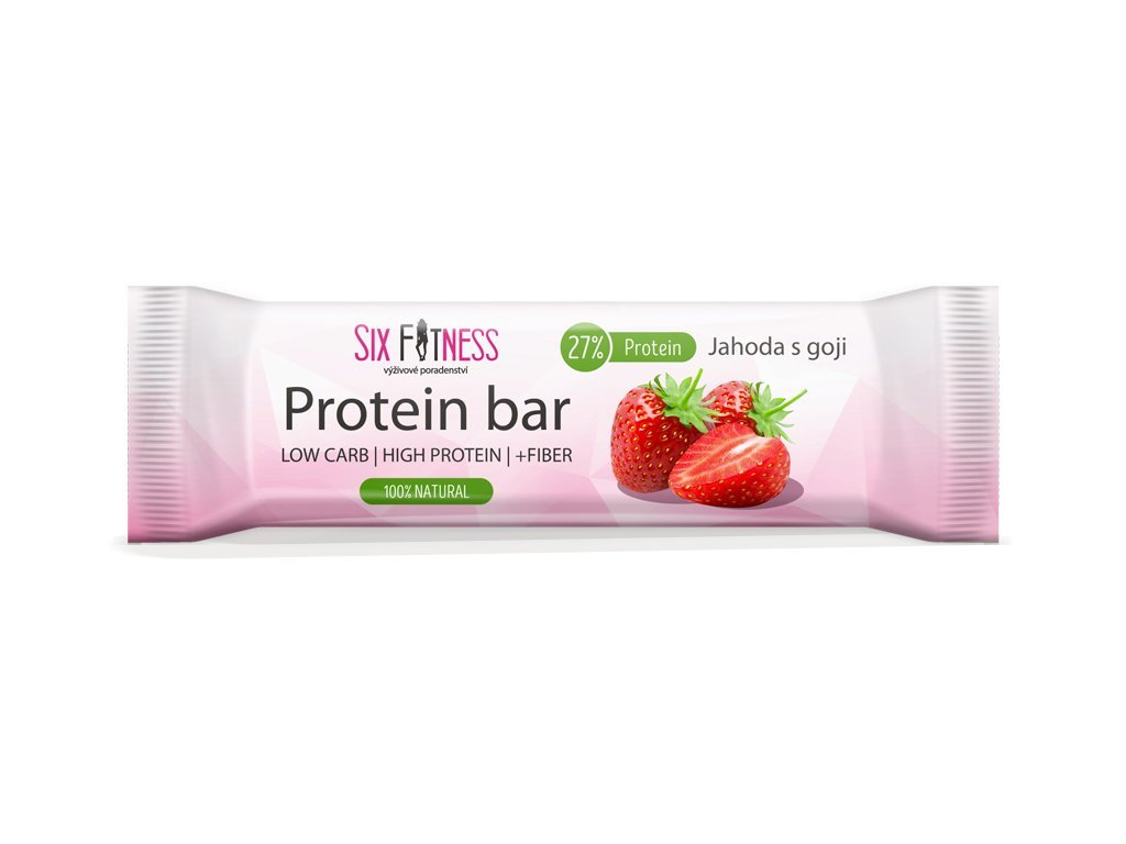 sixfitness protein bar jahoda