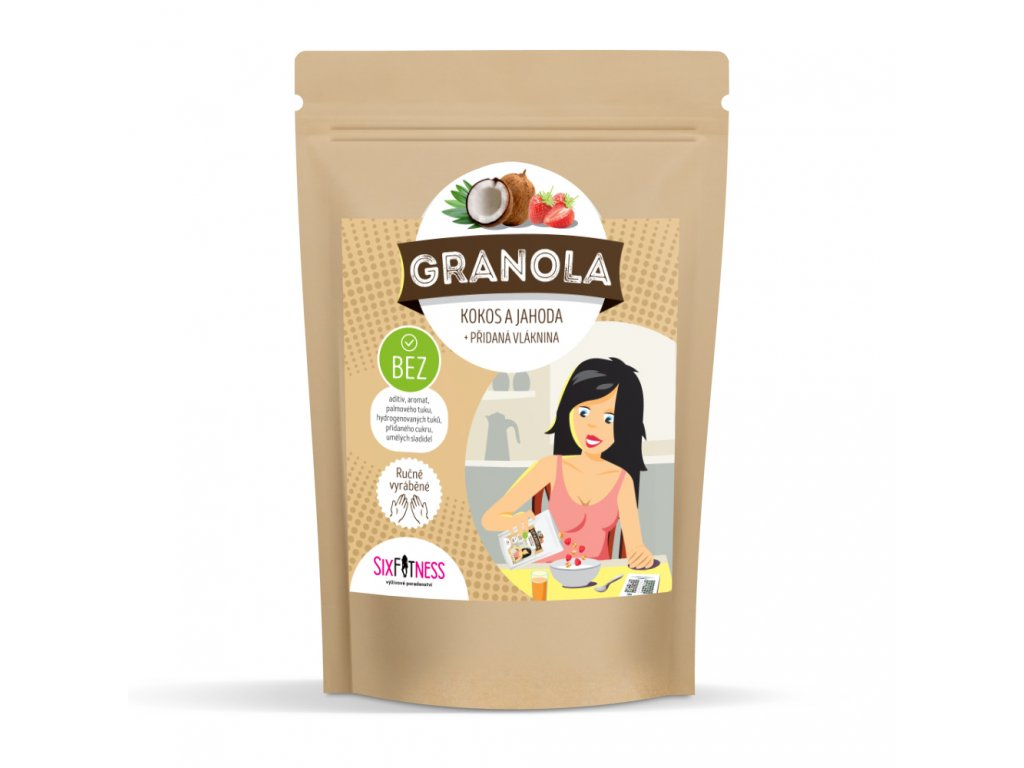 sixfitness granola kokos