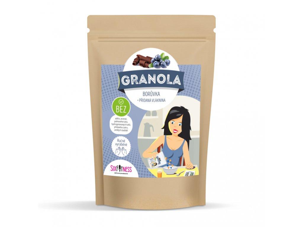 sixfitness granola boruvka