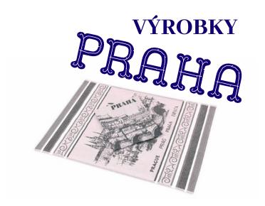 výrobky Praha
