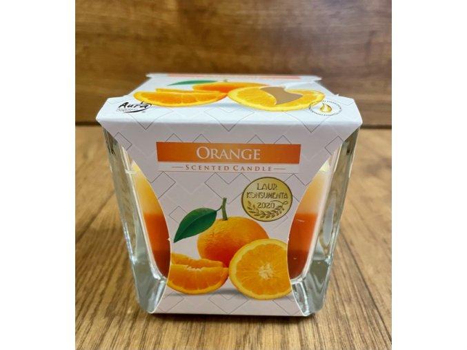 svíčka orange