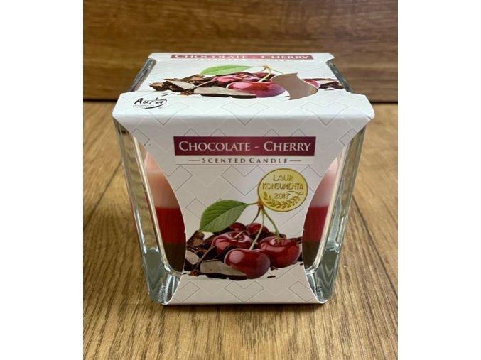 svíčka chocolate cherry