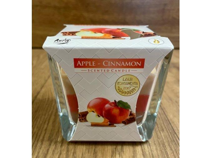 svíčka apple cinnamon