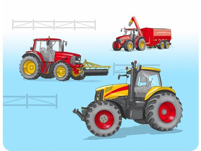 prostirani traktor