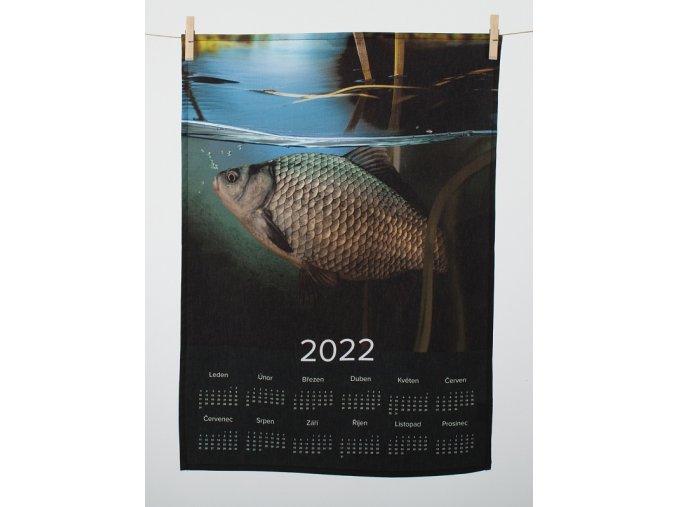 kuchynska uterka kalendar pod hladinou 2022 01