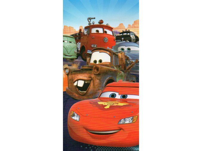 Osuška dětská CARS 3