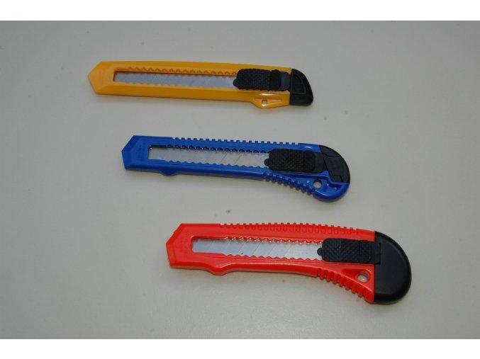 Nůž univerzální plastový s odlamovacím břitem 18mm