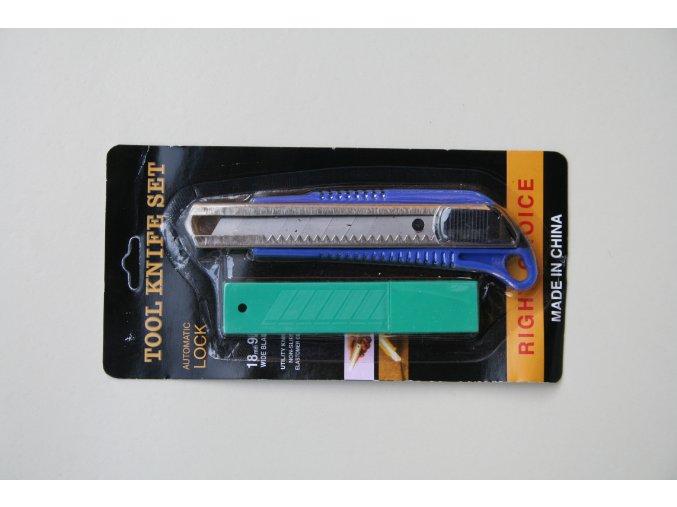Nůž plastový odlamovací 18mm