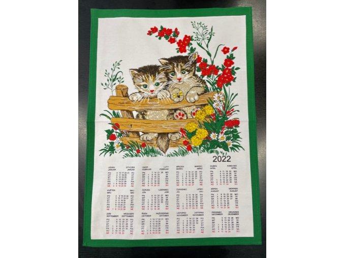 kalendář kohoutek a slepičky