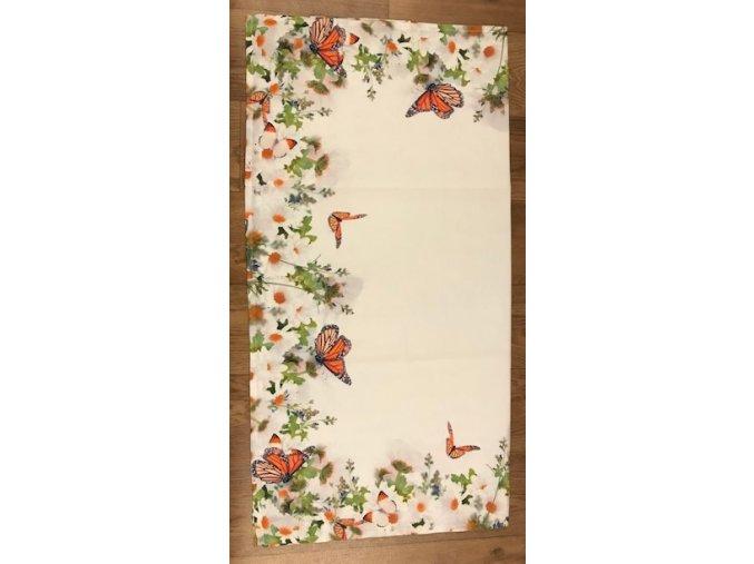Ubrus květina - 85 x 85 cm