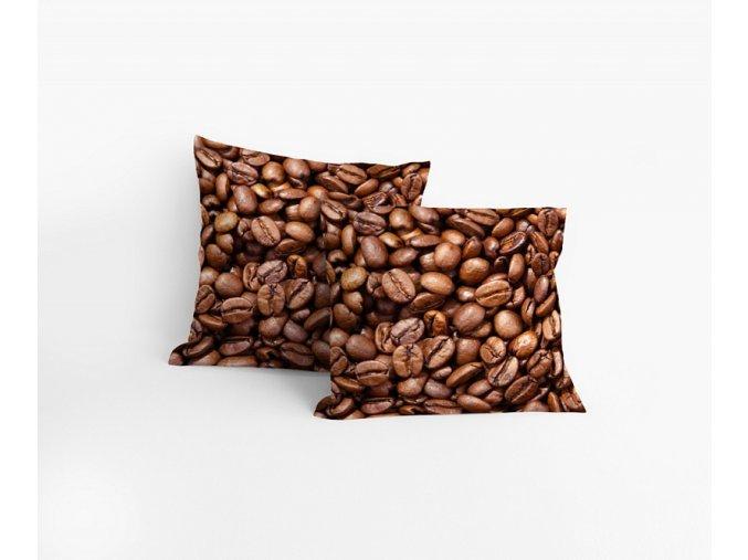 Povlak Kávová zrnka 40/40 cm