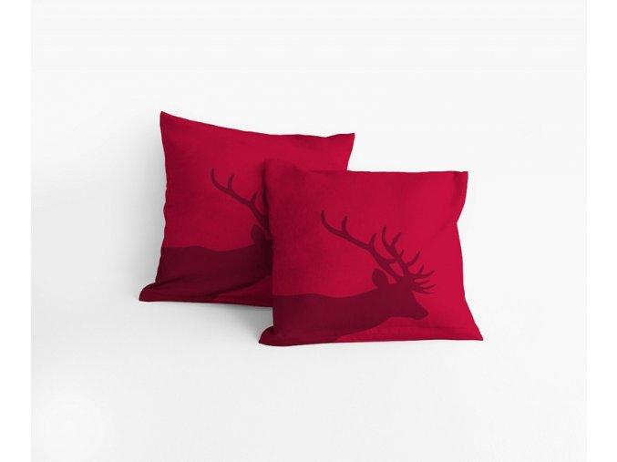Povlak Red Nordic 40/40 cm