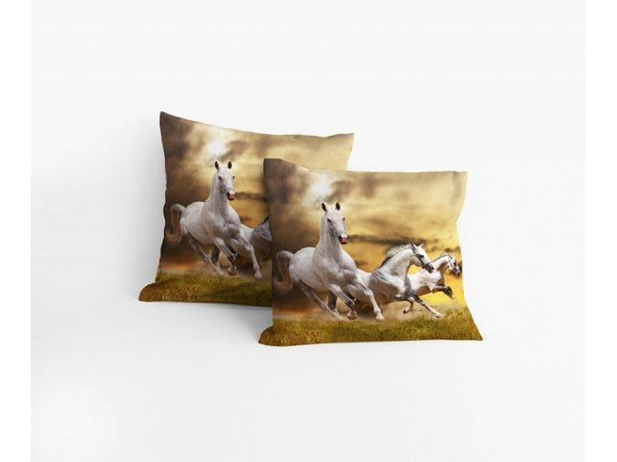 Povlak White Horse 40/40 cm