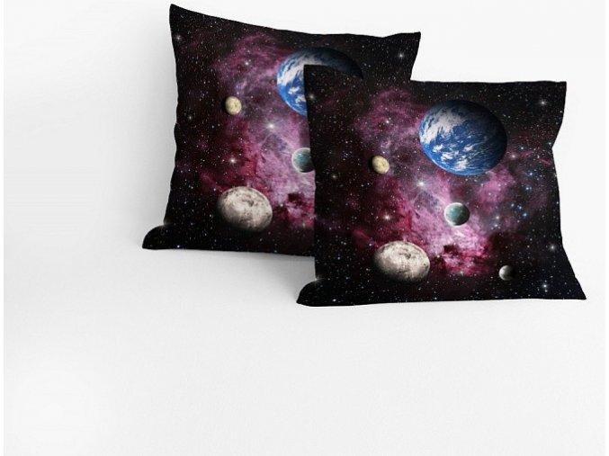 Povlak Vesmír 40/40 cm