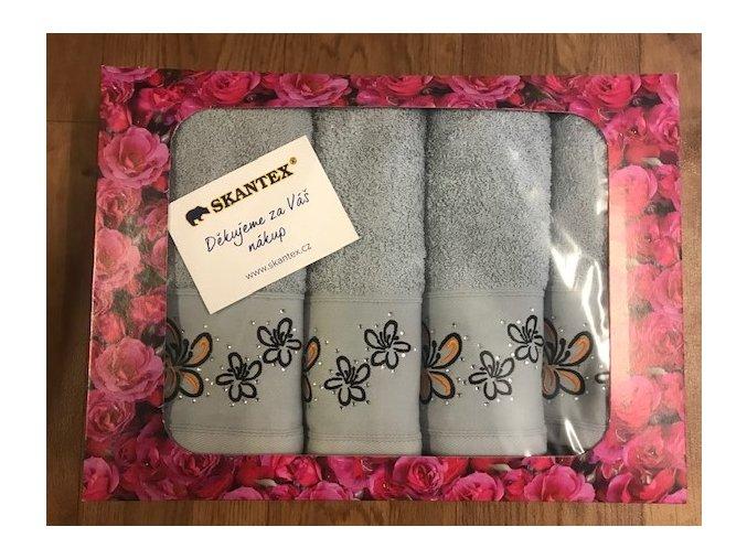 Dárkové balení ručníků 4 ks - DIAMANT