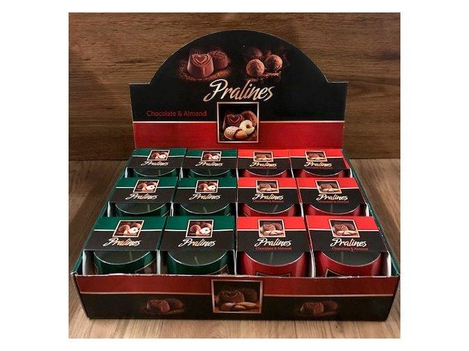 Svíčka - PRALINES