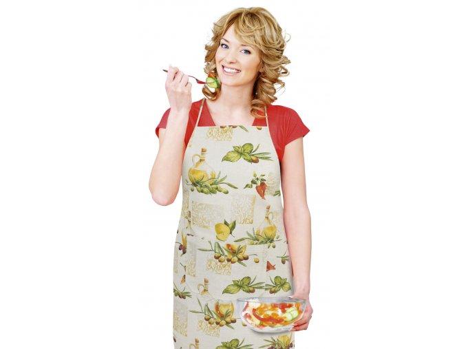 Kuchyňská zástěra - OLEA