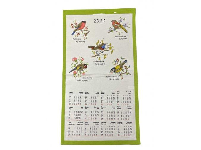 kalendář ptáčci 1