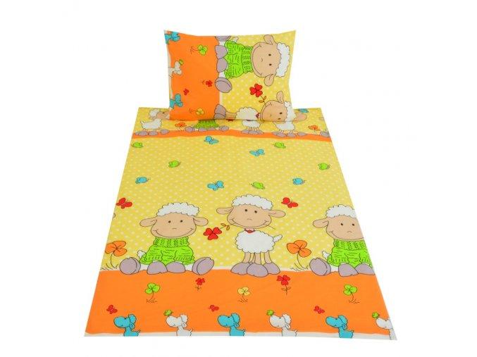 ovecka oranzova detska bavlna