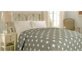 Přehoz na postel STARS