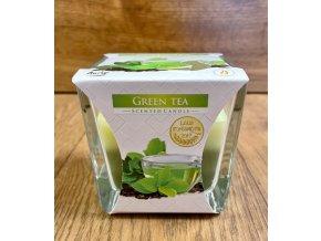 svíčka green tea