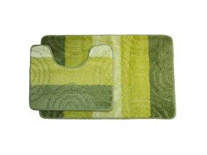 Koupelnová předložka Comfort Silver - zelená