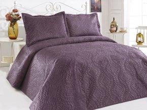 Přehoz na postel ILK - fialový
