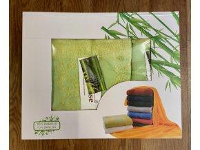 set 1+1 bambus zelená
