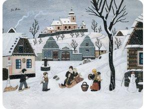 prostirani zimni zabavy