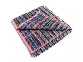 Pracovní ručník -  pestrý proužek