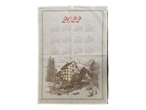 kalendář chalupa