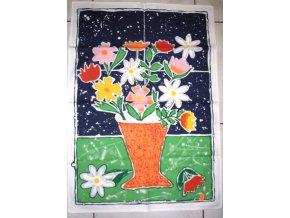 Utěrka květina - 3 ks