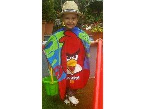 Dětské pončo - Angry Birds