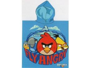 Dětské pončo - Angry Birds FLY