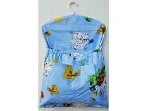 Dětský kapsář s ramínkem - pejsek modrý
