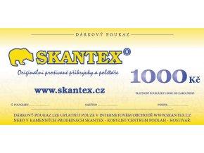 poukaz skantex 1000 Kč