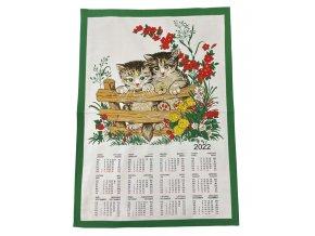 kalendář kočičky 2022