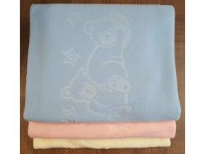 Dětská deka 75/100 cm - 3D