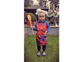 Dětský kuchařský set - spiderman