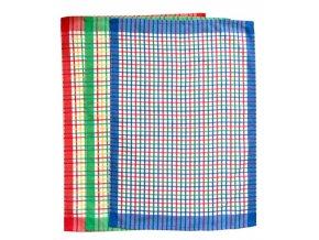 Utěrka - kostička barevná 3 ks