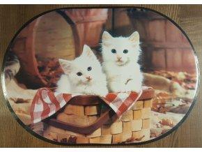 Prostírání - kočičky