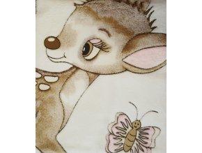 Dětská deka 85/100 cm - barevný vzor