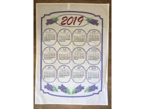 kalendář levandule