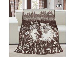 deka kočky