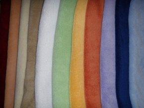 Povláčky 40/40 MICROPLYŠ - více barev