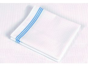 pracovní ručník proužek bílý